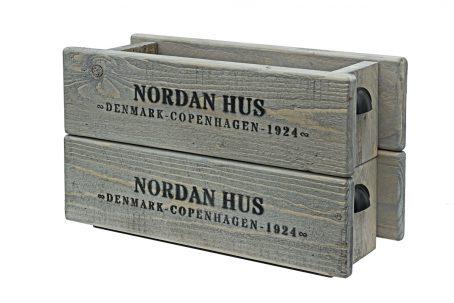 Holzkiste Holzbox Aufbewahrungsbox Holz Kräuterkiste Obstkiste Küchen Kiste nordic design Vintage Shabby Chick skandinavisch Schriftzug Garderobenhaken Massivholz dänisches Design