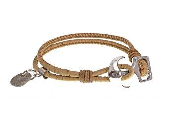 Design Kork Armband LIEKE mit Anhänger