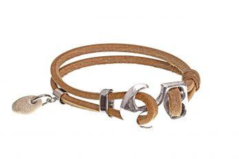 Design Leder Armband TAMME mit Anhänger