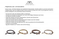 Design Leder Armband YORICK