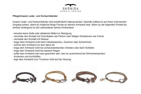 Design schwarzes Ankerarmband Lederarmband maritim ANKER maritimer Schmuck Ostsee Outdoor