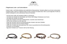 Design Leder Armband BENT