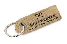 Design Schlüsselanhänger SNORRE HOLZWERKER