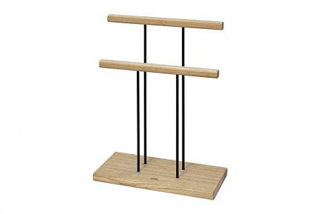 Schmuckständer Schmuckhalter Schmuckbaum Schmuckaufbewahrung Schmuckbäumchen Schmuck Zubehör Nordic Design Holz Eiche