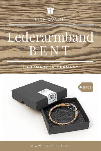 lederarmband leder armband geschenk geschenkidee geschenkbbox geschenkverpackung geburtstagsgeschenk unisex damen herren qualität skonida