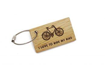 Schlüsselanhänger Fahrrad – I LOVE TO RIDE MY BIKE
