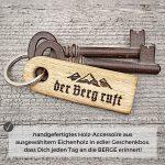 Schlüsselanhänger DER BERG RUFT
