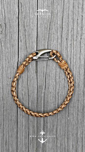skonida nordic design armbänder armband lederarmband BENT holzarmband