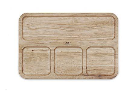 SKONIDA nordic design Schmuckablage Schmuckhalter Schmucktablett Schmuckschale Schlüsselschale Schmuckaufbewahrung Holz Eiche JYTTE