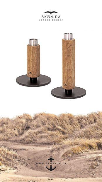 SKONIDA nordic design geburtstagsgeschenk geschenk geburtstag geschenkidee holz kerzenständer kerzenhalter deko wohnaccessoires