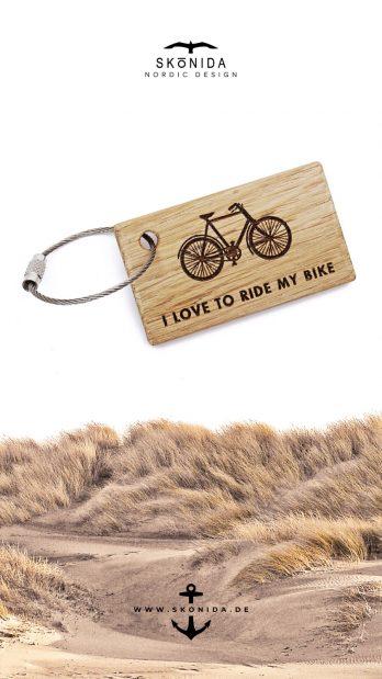 SKONIDA nordic design geburtstagsgeschenk geschenk geburtstag geschenkidee fahrrad schlüsselanhänger bike biker biken