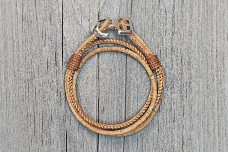 Armband JUNA Wickelarmband Kork Korkarmband Anker Ankerarmband maritim Geschenk Geschenkidee Geschenkbox Geschenkverpackung Nordic Design Naturarmband