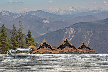 schlüsselanhänger berge berg geschenk geschenkidee alpen österreich-klettern kletterer accessoires gadget gimmick keychain mountain bergsteiger gipfelstürmer alpen style