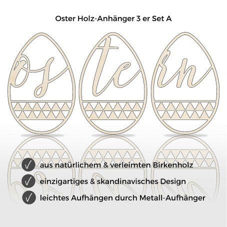 oster deko frühlings dekor osterei dekoration hängedeko holzdeko osterschmuck holz anhänger skandi skandinavischmodern