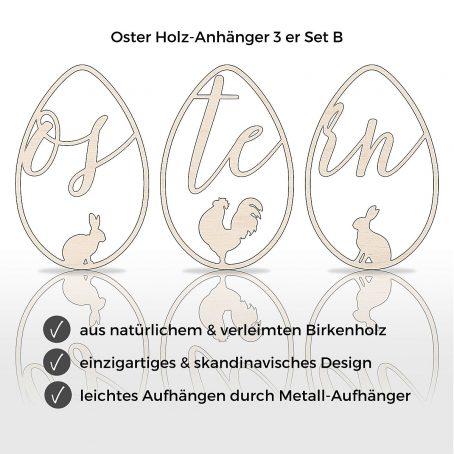 oster deko frühlings dekor osterei dekoration hängedeko holzdeko osterschmuck holz anhänger skandi modern